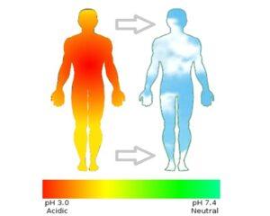 مشکلات ناشی از اسیدی بودن بدن چیه