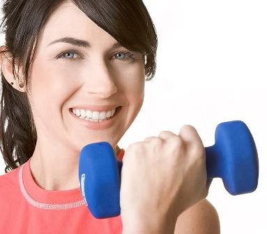 ورزش برای لاغری بازوها