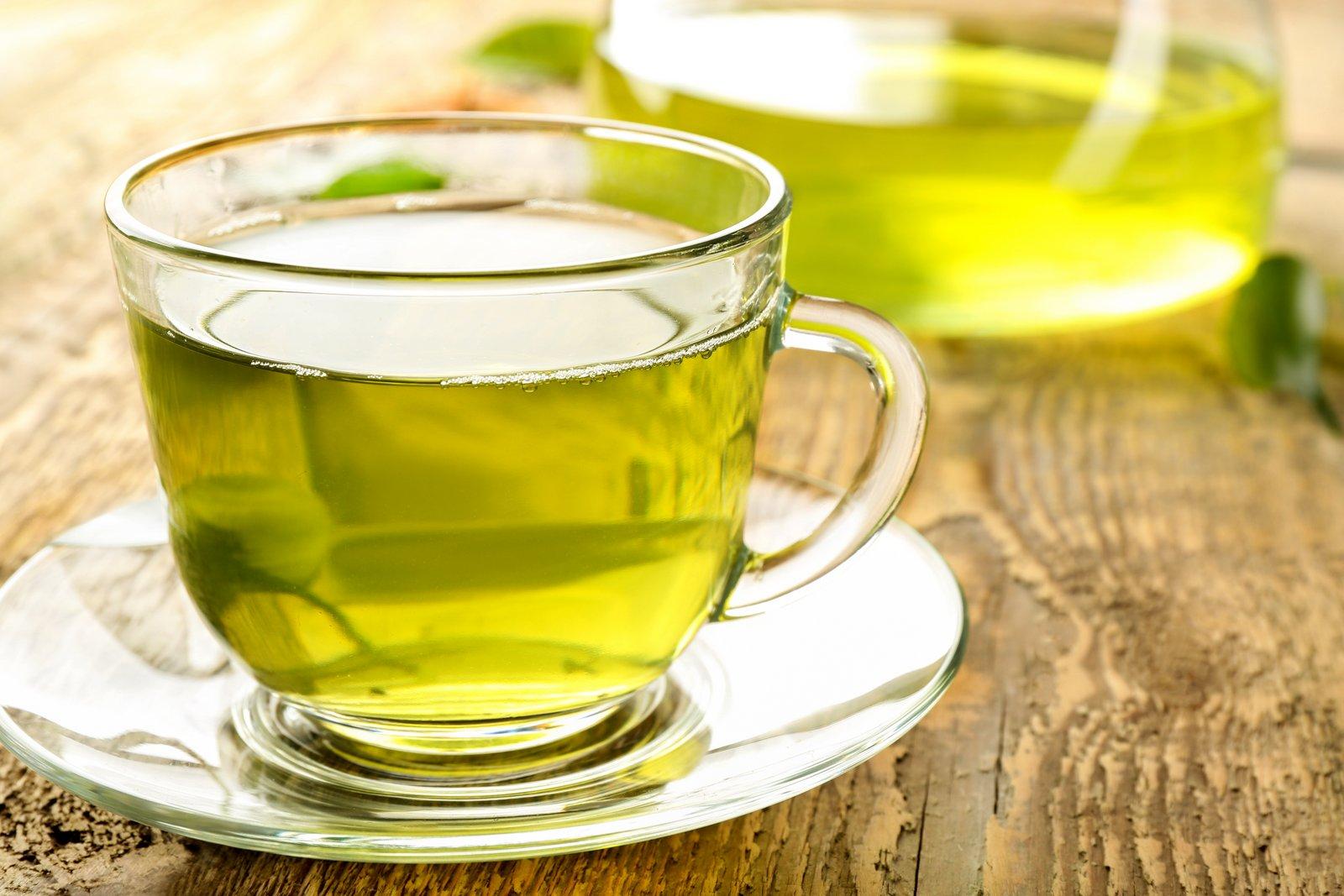 چای سبز برای لاغری