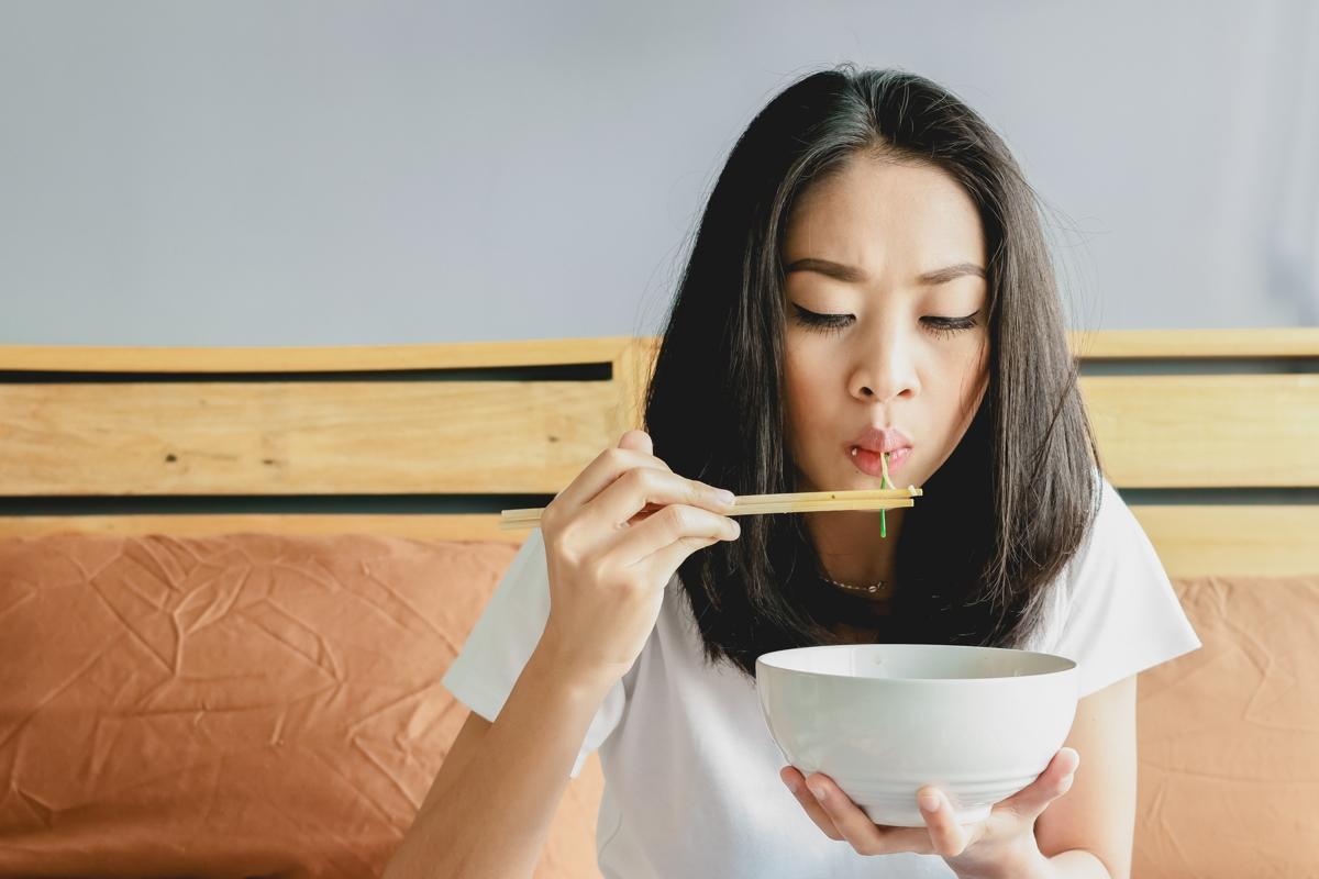 قانون ۸۰ - ۲۰ در غذا خوردن